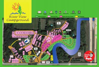 See the campground map